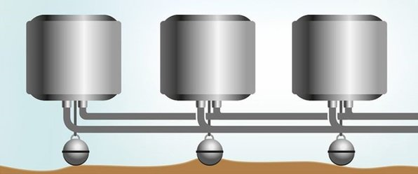 ThermoGenius™ Water M can be easily networked for increased output